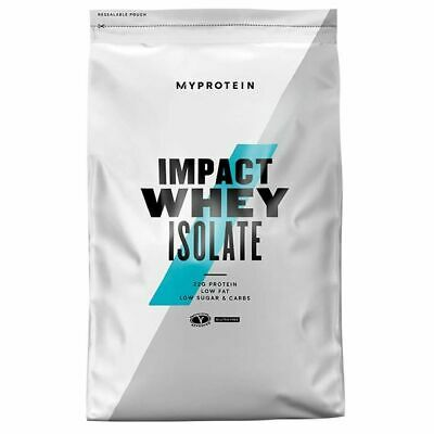 08/20 MYPROTEIN - IMPACT WHEY ISOLATE - 2,5kg a 5 kg -