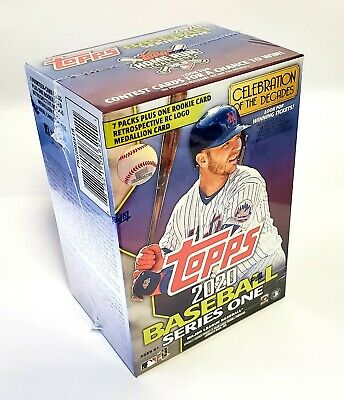2020 Topps Series 1 Baseball Trading Cards Retail Blaster Box - NEW