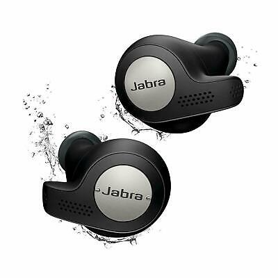 Jabra Elite Active 65t Wireless Earbuds with Charging Case – Black