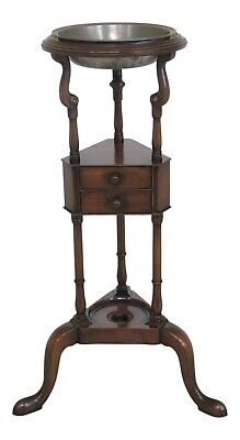 48904EC: KITTINGER Colonial Williamsburg CW-5 Mahogany Basin Stand