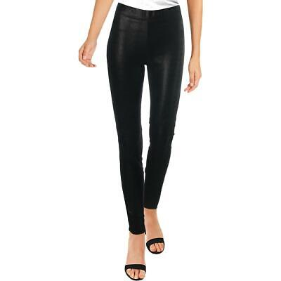 Elie Tahari Womens Roxanna Lamb Leather Lizard Print Skinny Pants BHFO 1412