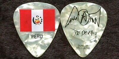 AEROSMITH 2011 Road Tour Guitar Pick!!! JOE PERRY custom concert stage PERU