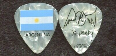 AEROSMITH 2011 Road Tour Guitar Pick!!! JOE PERRY custom concert stage ARGENTINA