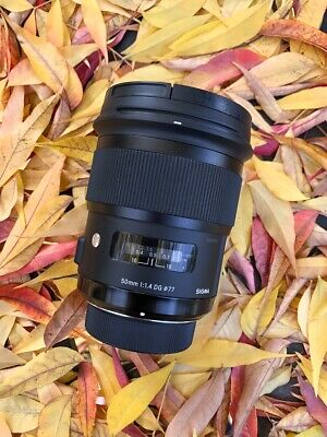 Sigma 50mm f/1.4 HSM DG Art Lens for Nikon
