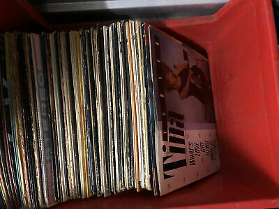 Vinyl Record Albums Assorted Lot Of 50
