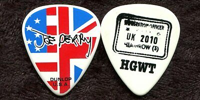 AEROSMITH 2010 Cocked Tour Guitar Pick!!! JOE PERRY custom concert stage Pick #5