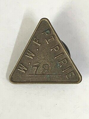Port Pirie Waterside Workers Federation Union Badge Triangle