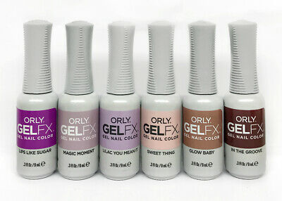 Orly GelFX NAIL POLISH - FEEL THE BEAT Spring 2020 - Choose Any Color 0.3oz/9mL