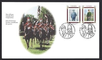 Canada   # 1876 & 1877     CANADIAN REGIMENTS       New 2000 Unaddressed Cover