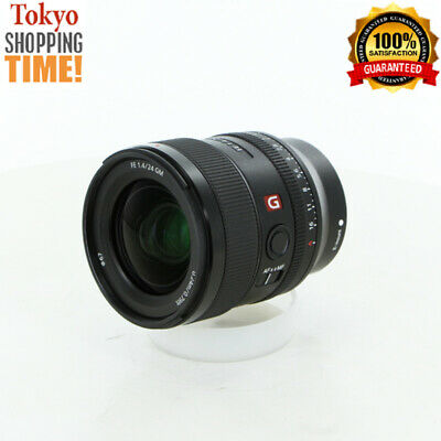 Sony FE 24mm F/1.4 GM for E-Mount Black Lens from Japan