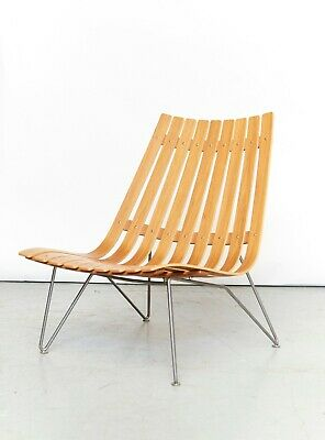 Hans Brattrud Scandia Nett Lounge Chair for fjordfiesta, 1957