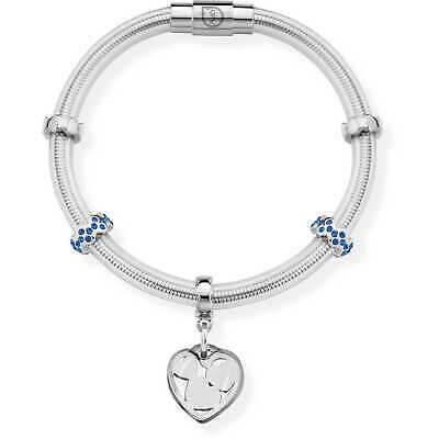Bracciale Donna OPS Objects True Cristalli Blu OPSBR-492
