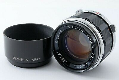 【As-is】Olympus G.zuiko Auto-S 40mm F1.4 For Pen F FT FV From Japan 546198