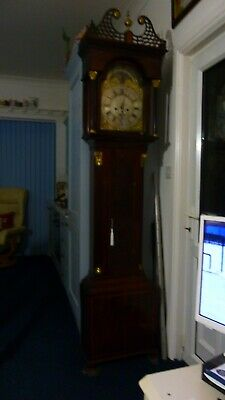 Frothy999$LONGCASE CLOCK 8 day  WITH MOON WORK AND DATE SWEEP HAND