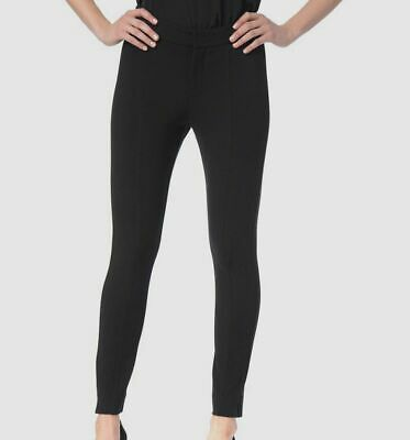 $319 NYDJ Women's Black Betty Stretch Skinny Fit Ankle Pants Trousers Size 14