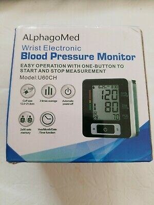 Automatic Digital Wrist Blood Pressure Cuff Clinically Accurate Fast Reading