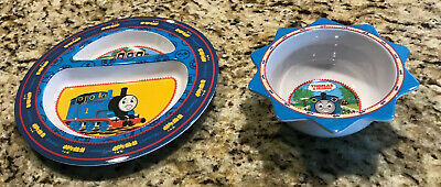 Thomas The Tank Engine Train Plate And Bowl Set