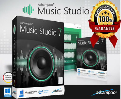 Ashampoo Music Studio 7 🔥 Digital Version! ⚡ Instant Delivery ⚡