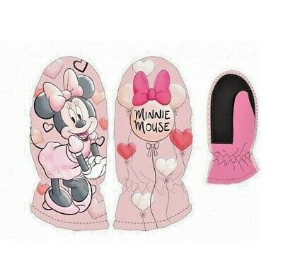 gants de ski enfants - MINNIE - Moufles de ski MINNIE DISNEY
