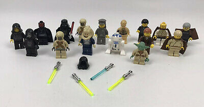 Joblot Of Lego Star Wars Minifigures Bundle Rare Figures