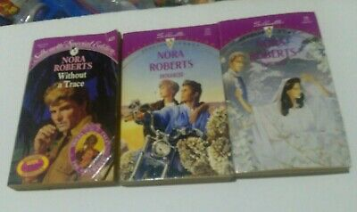 3x Silhouette Special Edition Romance Paperback Books Nora Roberts 1992 Donovan