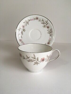 (4) Franconia Fascination Cup Saucer Krautheim Selb Germany Tea Coffee