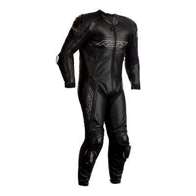RST 2460 TracTech Evo R CE Leather Motorcycle Motorbike Suit - Black