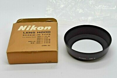 [NEAR MINT] GENUINE NIKON HN-3 Lens Hood for Nikkor 35mm 55mm F/1.4 from JAPAN