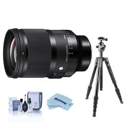 Sigma 35mm f/1.2 DG DN ART Lens for Sony EMount W/Vanguard VEO 2 235CB CF Tripod