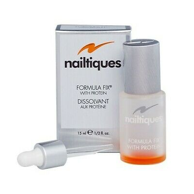 Nailtiques Formula Fix With Protein 14.8ml. 1/2 Oz