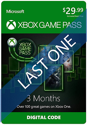 Xbox Gamepass PC   3 Months (PC ONLY) (no code) [READ DESC]
