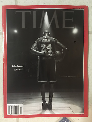 KOBE BRYANT Special Edition TIME MAGAZINE Final Bow On Court 1978-2020 Feb 10