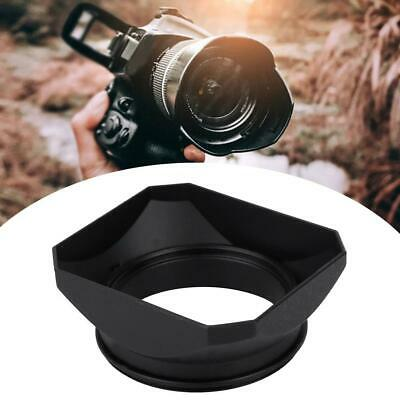 55mm Square Lens Hood Shade Filter Adpater Accessories for Mirrorless Cameras