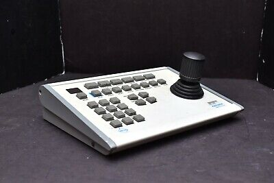 Pelco KBD300A Security Camera PTZ Control Joystick Keyboard Untested