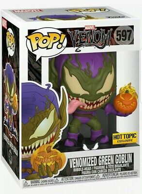 Funko Pop! Marvel #597 Venomized Green Goblin Hot Topic Exclusive Venom