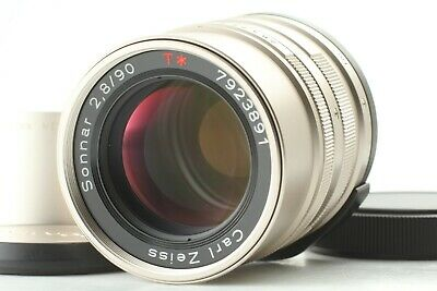 【  MINT  】Contax Carl Zeiss Sonnar T* 90mm f/2.8 Lens For G1 G2 From JAPAN  #341