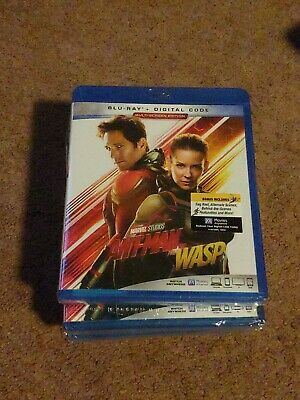 ANT-MAN AND THE WASP BLU-RAY like new Marvel