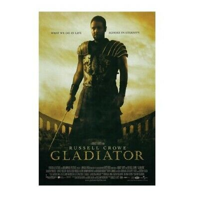 Gladiator Russell Crowe movie poster print #12