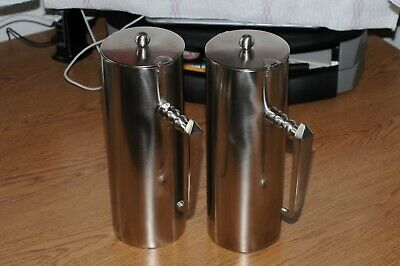 2 RCP Design 64 oz. Stainless Steel Coffee Pots Model: 2-2005