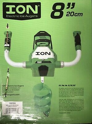 ION 19150 8 inch Electric Ice Auger. 3amp ion auger