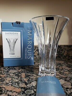 Waterford Marquis by Sheridan Flared 9-Inch Vase