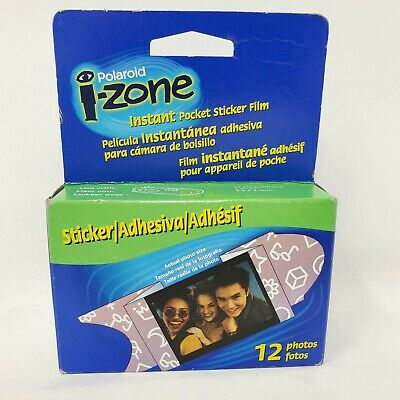 Polaroid I-Zone Instant Pocket Sticker Film New Old Stock Expired 05/02 12 Exp