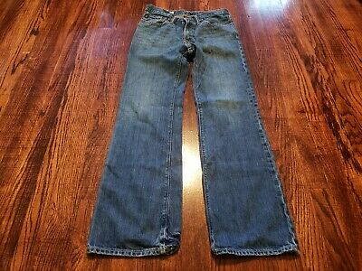 Abercrombie & Fitch Boys Kids Jeans Size 16 Baxter Low Rise Slim Boot