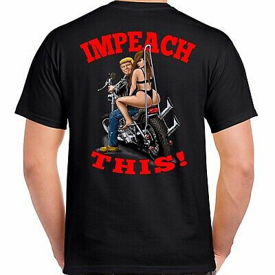Donald Trump 2020 Tee Shirt Impeach This !  Keep America Great !