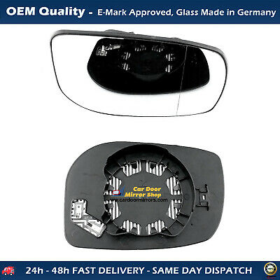 Peugeot 308 Complete Wing Mirror Unit Wide angle LHS 2007 to 2013 Heated