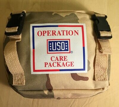 Individual First Aid Kit USO Medic Care Package Pouch US Army Military