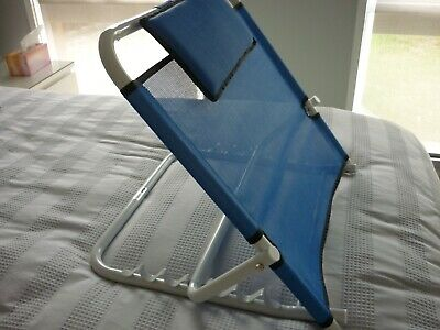 Adjustable Folding Bed Backrest Disability Aid Back Support /Pillow