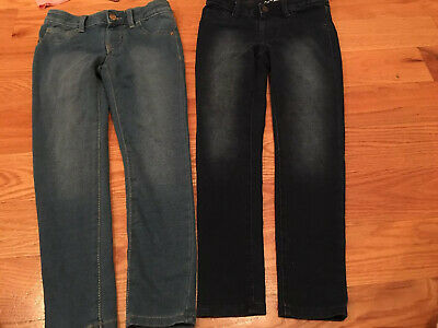 Target Cat & Jack Girls Lot of 11 Jeans Jeggings Leggings Fall Winter size 7/8