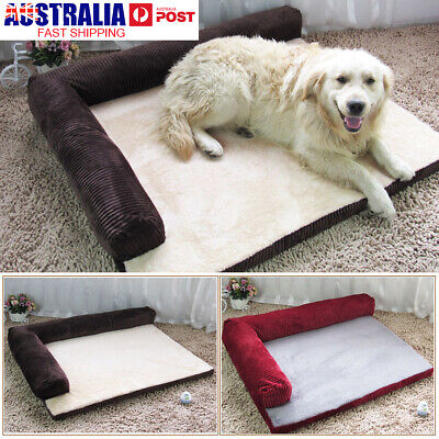 AU 4 sizes Soft Warm Orthopedic Pet Dog Memory foam bed mat With Removable Cover
