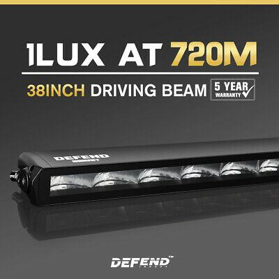 【15% OFF】DEFEND 42inch LED Light Bar Dual Row Spot Flood Combo Driving Truck